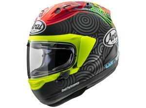 Moto3で活躍する鈴木竜生選手のレプリカヘルメット! アライが「RX-7X・タツキ」を発表