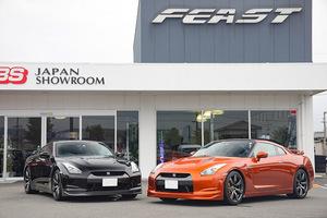 「四国の名店『フィースト』がR35GT-Rのフルサポートを開始!」車両購入からチューニングまで万全の体制を構築