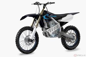 ヤマハが電動オフロードバイクの姿を公開 「EMX Powertrain project」が進行中