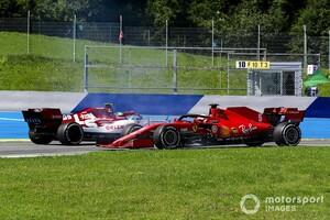 """「サインツJr.との接触は僕のミス」フェラーリのベッテル、""""うまくいかなかった""""開幕戦を振り返る"""