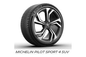 ミシュラン 新サイドデザインを採用した「パイロットスポーツ4SUV」を発売