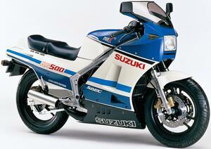 スズキRG-Γヒストリー(400/500Γ編・1985-1986)