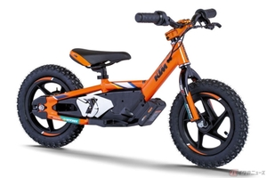 超カワイイけど本格的! KTM×STACYC電動バランスバイク登場