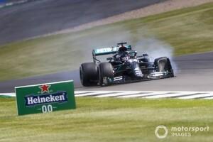 F1イギリスGP決勝:劇的決着、ハミルトン満身創痍の優勝。レッドブル・ホンダのフェルスタッペンわずかに届かず2位