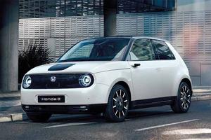 ホンダ 8月発売のコンパクト電気自動車「ホンダe」をホームページで公開