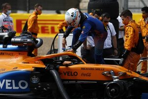 ノリス5位「今日の僕らにとってはほぼ最大限の結果」マクラーレン【F1第4戦決勝】