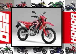 ホンダ「CRF250L」いま日本で買える最新250ccモデルはコレだ!【最新250cc大図鑑 Vol.002】-2020年版-