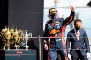 フェルスタッペン、2位キープのピット戦略に後悔なし「僕にもパンクの危険があった」レッドブル・ホンダ【F1第4戦決勝】