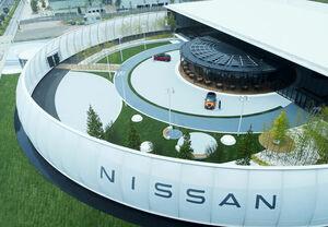 新型アリアに同乗できる! 日産、横浜みなとみらいに体験型エンターテインメント施設 「ニッサン パビリオン」をオープン