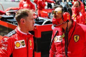 ベッテル10位「誰とも戦うことができず、自信が低下している」フェラーリ【F1第4戦決勝】