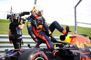 レッドブル代表「最後のタイヤ交換をしなければ、フェルスタッペンは走り切れなかったかもしれない」【F1第4戦決勝】