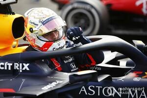 タイヤ交換しなければ……フェルスタッペンにもパンクのリスクが迫っていた?|F1イギリスGPのレッドブル・ホンダ