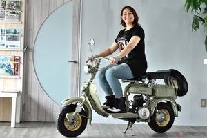 バイクに乗るヒーローに憧れた幼少期、そして遂に手に入れたバイクとの別れ、そして再会!
