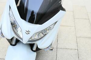 原付二種125ccと比較するのは150ccじゃないかも? スズキのスクーター『バーグマン200』が200ccバイクとして突き抜けてる!【SUZUKI BURGMAN200 試乗インプレ(1)】