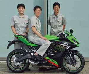 【開発者インタビュー】カワサキ「Ninja ZX-25R」が生まれた経緯、そして開発担当者の想いとは?