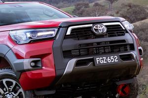 トヨタ新型「ハイラックス」はワイルド感アップ! 新エンジン搭載でパワフルに