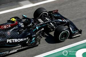 メルセデスF1、スペインではシルバーストンよりもうまくタイヤを使えている?「タイヤの温度は今回は良いようだ」