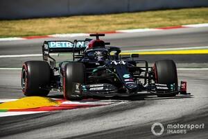 """F1スペインGP予選:今回もメルセデスが予選を""""制圧""""。レッドブル・ホンダのフェルスタッペンは3番手から逆転優勝狙う"""