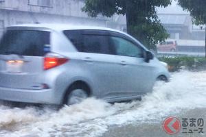 相次ぐ大雨 クルマが浸水した時の脱出法とは? 窓が開かない場合はどう対処すべき?