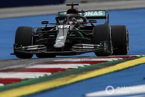 F1オーストリアGPフリー走行1回目:王者メルセデス、貫禄のワンツー。レッドブル・ホンダのフェルスタッペン3番手発進