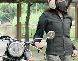 ちょうどいいメッシュジャケット。マックスフリッツから「メッシュスリーブシングルライダースJK」が発売!