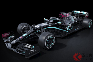 人種差別に反対表明! 2020年シーズンのメルセデスF1ボディカラーが銀から黒に変更