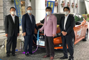 日産と富山市が電気自動車を活用した「災害連携協定」を締結