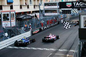 FIA-F2バーチャルレーシング第3戦:ルクレールが母国で逆転優勝。松下は通信トラブルに見舞われる