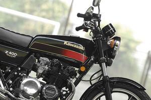 カワサキ「Z400FX」歴史解説&車両紹介|4気筒400ccブームに火をつけた等身大のヒーロー! Zは丸から角へと進化、男カワサキの出発点