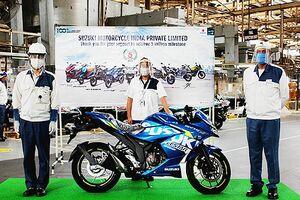 スズキ、インドの二輪車累計生産が500万台 14年5カ月で達成