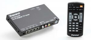 高感度&機能充実の地デジチューナー エイタック Expand AT-DTV4X 【CAR MONO図鑑】