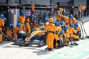 サインツJr.「ホイールガンのトラブルで、それまでの努力が水の泡に」:マクラーレン F1第5戦決勝