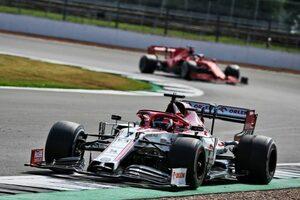 ライコネン「タイヤにひどい振動が起きて、ペースを落とすことを強いられた」:アルファロメオ F1第5戦決勝
