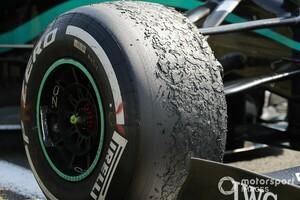 メルセデス、スペインGPでもブリスターに悩まされる可能性「まだ原因を理解できていない」