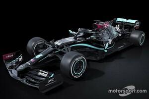 """人種差別と戦う""""ブラックアロー""""。メルセデスF1、新たなマシンカラーリングを発表"""
