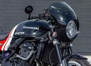 カフェレーサーでありながらツーリング性能も併せ持つアクティブがカスタムしたカワサキ「Z900RS」