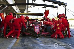 コロナウイルス対策でスタッフの人数制限も、F1の超速ピットストップ競争は変わらない?