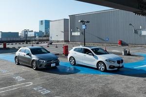 【比較試乗】「BMW 1シリーズ vs メルセデス・ ベンツAクラス」現代の「小さな高級車」はどれに乗る?パッケージング編