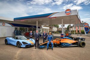 マクラーレンとガルフ・オイルが再タッグ。F1および市販車部門で提携