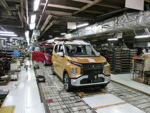 三菱自動車、水島製作所に軽EVライン新設 日産との共同開発車生産