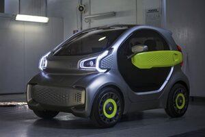 3Dプリンターをフル活用した低速EV車『YOYO』デザインは自由自在、可能性は無限大!/オートスポーツweb的、世界の自動車