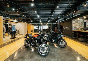 オークネット、カワサキと業務提携 中古バイクの共有在庫システム 店舗間で融通