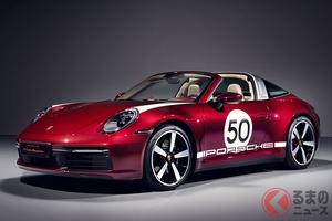 1950年代デザインが超クール! ポルシェ「911タルガ4S」ヘリテージデザインエディション発売