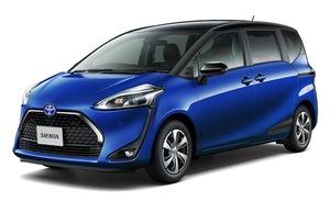 トヨタ、シエンタが快適性を向上させる一部改良を実施。2列シート車にも「クエロ」を設定
