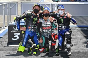 MotoGP第3戦:ヤマハが達成した表彰台独占と、モルビデリのエンジントラブルに潜む懸念