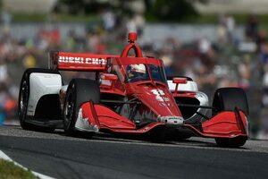 インディカー参戦中のエリクソン「エアロスクリーンはあるべきだと証明された」F1での導入を予想