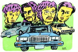 King GnuのMVに登場したクルマは何もの? 「Y30セド」「117クーペ」「130ワゴン」若者が熱視線を送る旧車たち