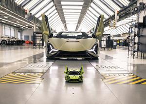ランボルギーニ シアンをLEGOでつくる! スーパーカーを約3700ピースで精巧にモデルアップ