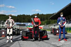 ポディウムはコース上。シャンパンファイトは実施。F1における新様式での表彰式の全容が明らかに