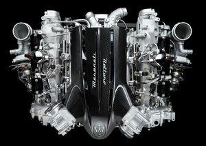マセラティの新型スーパースポーツ「MC20」に搭載する新設計3.0L・V6ターボエンジンの画像およびスペックが公開